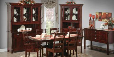 Ashville Dining Room,Brookside wood furniture,Amish furniture,Wood furn,dutch craft furnishings