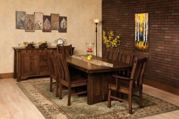 Beaumont Dining Group, Artisan Furniture, Dutch Craft Furnishings,Dutch Craft Amish Furniture,Wood