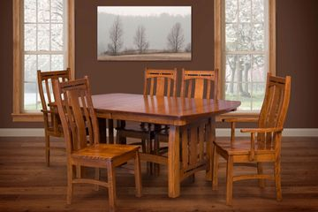 Boulder Creek Dining, Artisan Furniture, Dutch Craft Furnishings,Dutch Craft Amish Furniture,Wood