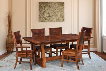 Ceresco Dining Group, Artisan Furniture, Dutch Craft Furnishings,Dutch Craft Amish Furniture,Wood