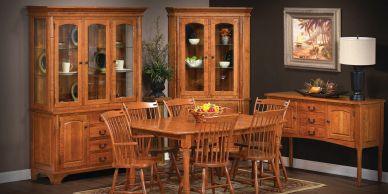 Concord Dining Room,Brookside wood furniture,Amish furniture,Wood furn,dutch craft furnishings