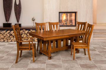 Coronado Dining Group, Artisan Furniture, Dutch Craft Furnishings,Dutch Craft Amish Furniture,Wood