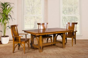 Ellis Dining Group, Artisan Furniture, Dutch Craft Furnishings,Dutch Craft Amish Furniture,Wood