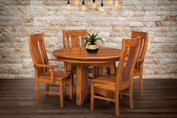 Gurnee Dining Group, Artisan Furniture, Dutch Craft Furnishings,Dutch Craft Amish Furniture,Wood