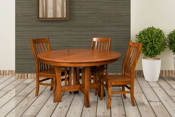 Lincoln Dining Group, Artisan Furniture, Dutch Craft Furnishings,Dutch Craft Amish Furniture,Wood