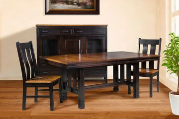 Lyndayle Dining Group, Artisan Furniture, Dutch Craft Furnishings,Dutch Craft Amish Furniture,Wood