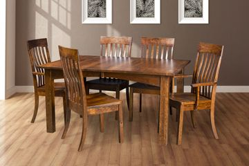 Madison Dining Group, Artisan Furniture, Dutch Craft Furnishings,Dutch Craft Amish Furniture,Wood