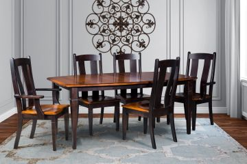 Marbarry Dining Group, Artisan Furniture, Dutch Craft Furnishings,Dutch Craft Amish Furniture,Wood