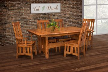 McCoy Dining Group, Artisan Furniture, Dutch Craft Furnishings,Dutch Craft Amish Furniture,Wood