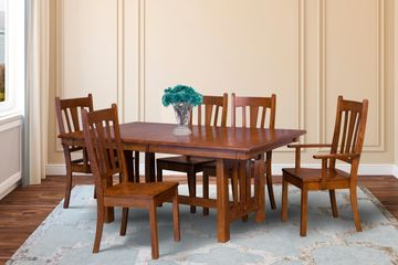Mission Dining Group, Artisan Furniture, Dutch Craft Furnishings,Dutch Craft Amish Furniture,Wood