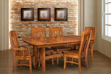 Napierville Dining Group,Artisan Furniture, Dutch Craft Furnishings,Dutch Craft Amish Furniture,Wood