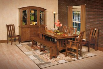 Olde Century, Dining Group, Artisan Furniture, Dutch Craft Furnishings, Amish Furniture,Wood