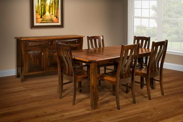 Preston Dining Group, Artisan Furniture, Dutch Craft Furnishings, Amish Furniture,Wood