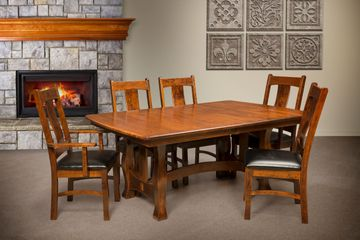 Reno Dining Group, Artisan Furniture, Dutch Craft Furnishings, Amish Furniture,Wood