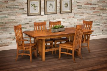 Tampico Dining Group, Artisan Furniture, Dutch Craft Furnishings, Amish Furniture,Wood