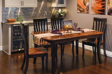 Canterbury Dining Group, Artisan Furniture, Dutch Craft Furnishings,Dutch Craft Amish Furniture,Wood