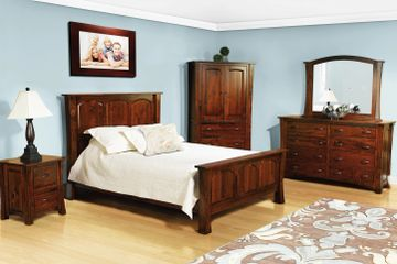 Woodbury collection, Farmside Wood Amish Furniture
