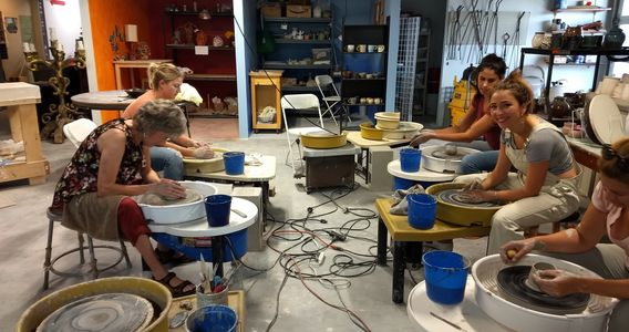 SIX WEEK CLASSES BEGIN AGAIN THE WEEK OF APRIL 14TH.  WHEEL, HANDBUILDING AND SCULPTURE.   CALL 7274