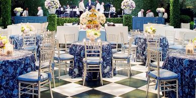 Milan Catering offers a variety of styling options