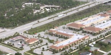 Coca Vista Plaza in Port Saint Lucie Florida, the location of Nightmare Inc Paintball & Airsoft