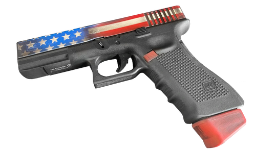 Elite Force Glock 17 CO2 GBB airsoft gun Cerakote by Nightmare Inc Paintball and Airsoft Florida