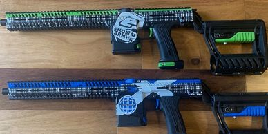 Planet Eclipse MG100's Cerakoted by Nightmare Inc Paintball & Airsoft