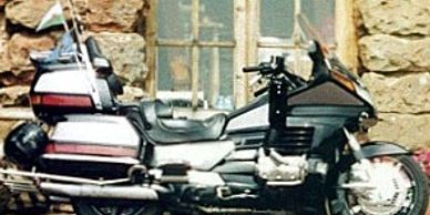Photo of Ned and Rosie's Honda Gold Wing motorbike