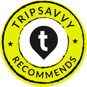 Tripsavvy recommends award badge.