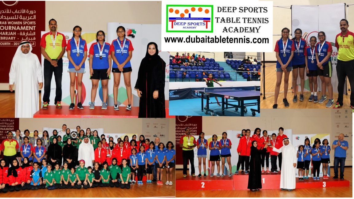 "We are very happy to announce that ""DEEP SPORTS TABLE TENNIS ACADEMY"" Under 15 Years Age group Girls"