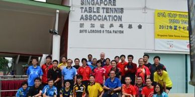 Pradeep- Deep Sports attending ITTF LEVEL 2 COACH COURSE at singapore tt association.