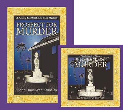 The Award-winning dragon fountain  cover of Prospect for Murder.