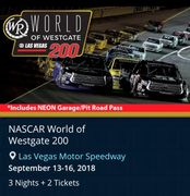 World of Nascar event. A Wellness event hosted by Troy Weaver.