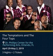 The Temptations live in concert by Troy Weaver