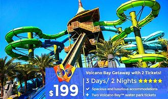 Volcano bay Orlando vacation packages by Troy Weaver.