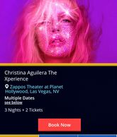 Christina Aguilera live in concert by Troy Weaver.