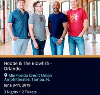Bootie and the blow fish concert with www.troy weaver.com