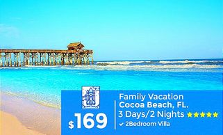 Cocoa Beach travel packages by Troy Weaver.