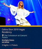 Celine Dion live in concert by Troy Weaver.