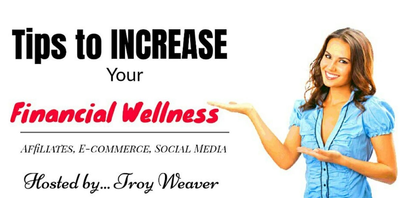 Financial services provided by Troy Weaver. Social media, Web sites, Vlog, Affiliate marketing.