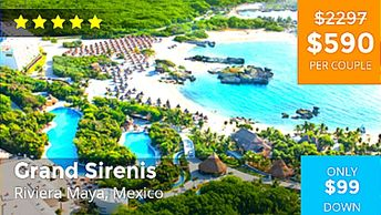 Mexico vacation packages are available by Troy Weaver.