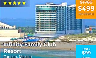 Cancun-mexico vacation packages by Troy Weaver.