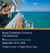 Royal Caribbean cruise to the Bahamas by Troy Weaver