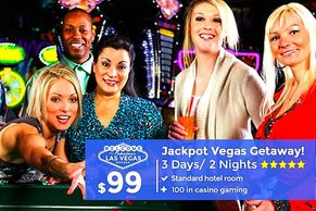 Las Vegas vacation packages with low rates by Troy Weaver.