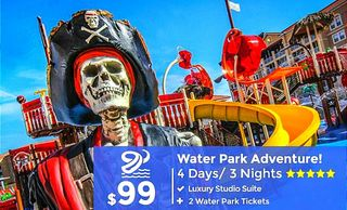 Orlando water park travel packages by Troy Weaver.