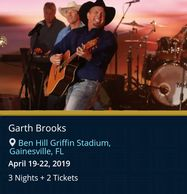 Garth Brooks live in concert by Troy Weaver
