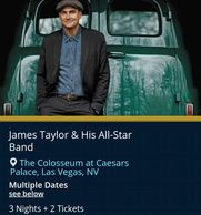 James Taylor & All Star Band