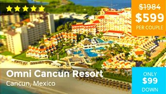 Omni Cancun Vacation Packages by Troy Weaver.