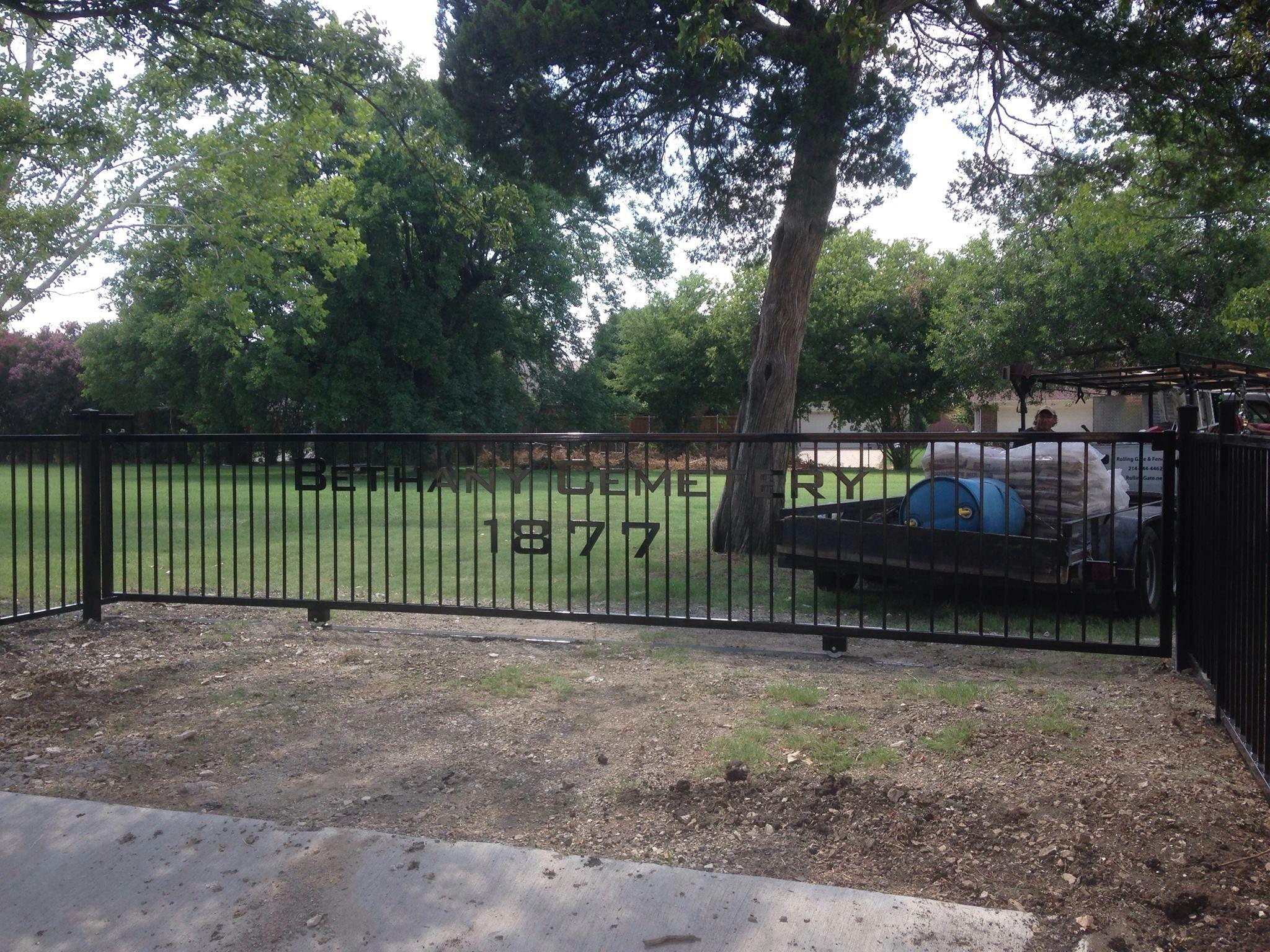 Rolling gate fence co automatic gates cedar fences