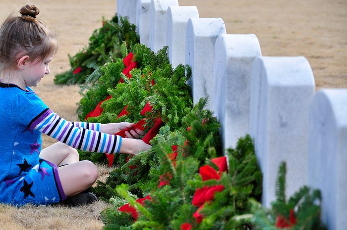Wreaths Across America at the Alabama National Cemetery - Remember, Honor, Teach Our Children