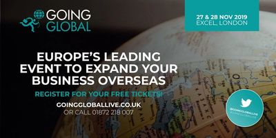 Going Global Live 2019 London ExCel